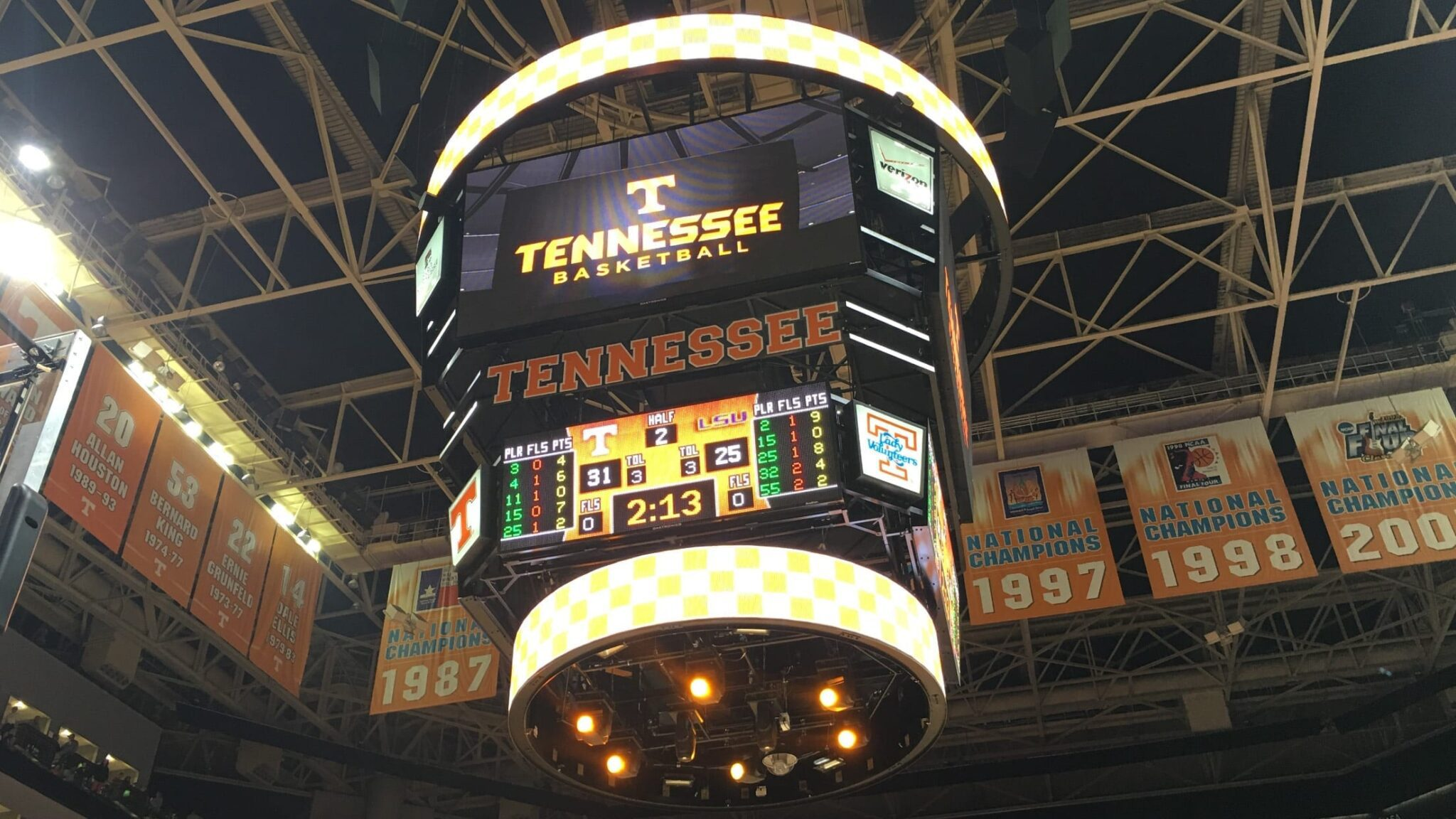 Tennessee basketball // Photo by Cody McClure